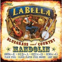 Encordado La Bella Para Mandolina, 8 Cuerdas 770l