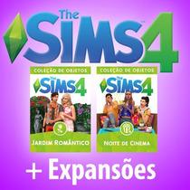 The Sims 4 + Todas Expansões E Pacotes + Escapada Gourmet