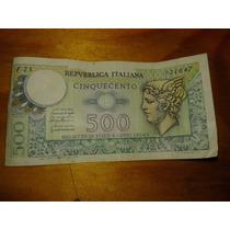 Billete Italia 500 Cinquecento Lires