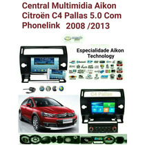 Central Multimidia Citroen C4 - Pallas / Aikon 2008/2013