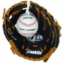Franklin Sports Rtp Teeball Guantes De Rendimiento Y La Bola