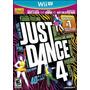 Just Dance 4 Sellado Nuevo Wii U A Estrenar Mercadopago!!