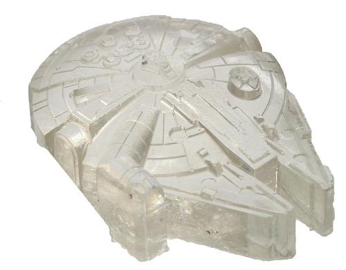b246fd876 Millenium Falcon Em Resina - Preto, Incolor E Cinza - - R$ 30,00 em ...