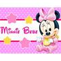 Kit Imprimible 1 Minnie Bebe Disney Candy Bar Tarjetas Y Mas