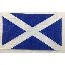 Bandera Escocia 150x90cm Reino Unido Cruz De San Andrés