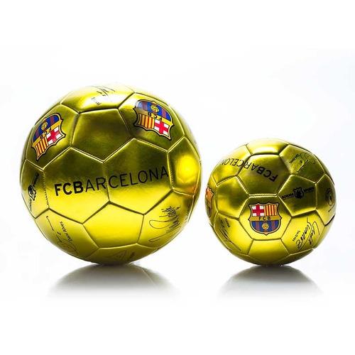 Pelota De Fútbol N2 Fc Barcelona Dorada Niños Sorma -   349 7cb58606d53bc