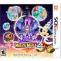 Nintendo 3ds Video Juego Disney Magical World 2