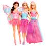 Muñeca Barbie X 3 Ropa Intercambiable Original Eeuu