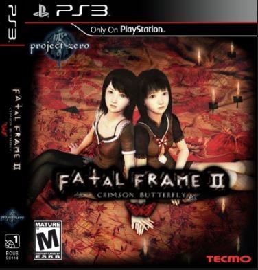 Digital Ps3 Fatal Frame Ii: Crimson Butterfly (ps2 Classic ...