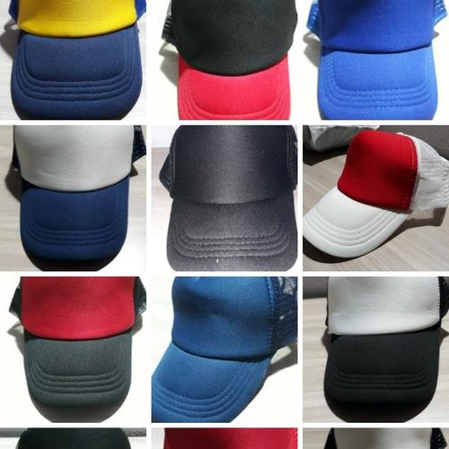 Gorras Trucker Lisas Varios Colores -   85 9aa8d923e04