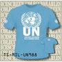 Remeras Tshirts Cascos Azules Naciones Unidas - 988