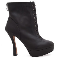 Ankle Boot Meia Pata Um Terco - Nd11