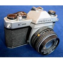 Camara Fotos Rollo 135/35mm Pentax K1000+50 1.7 714n6u15 Ew
