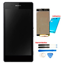 Xperia Z2 Pantalla Display D6502 6503 6543 L50w Kit Adhesivo
