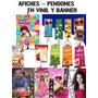 Afiches Pendones En Vinil Y Banner