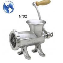 Maquina Picar Picadora Carne Fundicion Manual Metalica Nº32