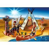 Playmobil 4012 Campamento De Indios Rosquillo Toys