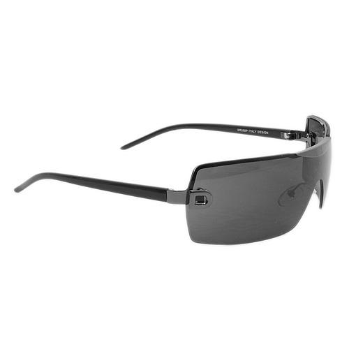 f008b8b82 Óculos De Sol Preto Com Detalhe Em Grafite De Armação Fina - R$ 89 ...