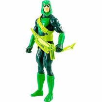 Boneco Liga Da Justiça - Seta Verde - 30 Cm - Mattel Cdm61