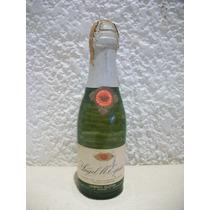 Botellita Miniatura De Champagne Angel M. Espiño