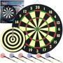 Marca Mundial Cuarto Juego Dartboard Set Con 6 Dardos