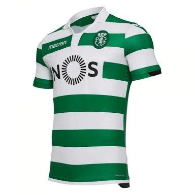 Camisa Sporting Portugal Home 2018 2019 Tam M Personalizada - R  145 ... 9e7fc64ddb8ea