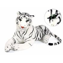 Tigre Bengala Blanco Peluche Importado Gigante Original