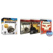 Resistance Trilogy Collection - 3 Jogos Completos - Lacrado