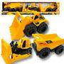 Maquinas Viales Caterpillar Pack X 3 - Jugueteria Gora