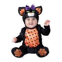 Disfraz Bebe Gatita Niña Halloween Gata Gato