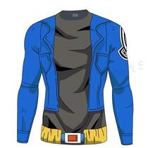 Playera Trunks Dragon Ball Goku Vegeta Gym Crossfit