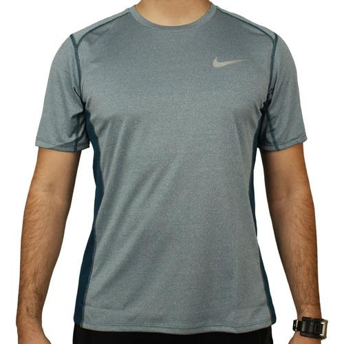 camiseta nike manga curta dry miler top homem tênis preto. Carregando zoom. 77fcb7c2e0a6b