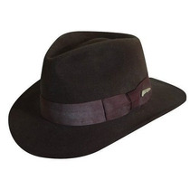 Gorra Indiana Jones Lana Crushable Felt Fedora Sombreros Ij
