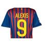 Camiseta Barcelona 2011/2012 Oficial Alexis 9