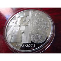 Moneda Medalla Casa De Moneda 30 Años Planta San Luis Potosí
