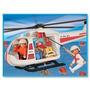 Helicoptero De Rescate Playmobil, El Mejor Precio. Barbazul!