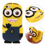 Funda 3d Minion Para Iphone 4/4s, 5/5s, 6/6s Y 6/6s Plus
