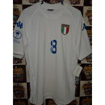Camiseta Italia Kappa 2002 Korea Japon