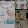 Camisas Decoradas Pepa, Minnie, Sofia...