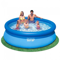 Piscina Inflável Intex Easy Set 2.400l + Bomba Filtro 110v