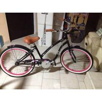 Preciosa Bicicleta Para Niña Rin De 24 Pulgadas (exhibicion)