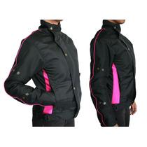 Jaqueta Blusa Feminina Motociclista Moto Resistente Proteção