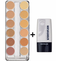 Kryolan Dermacolor Paleta A + Diluidor Blend Fracionado 6ml