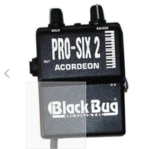 Captador Acordeon Black Bug Pro-six-2 C/ Mic Sennheiser