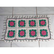 Tapetes Em Croche,barbante,artesanato,arte,presente,enxoval
