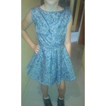 Vestidos De Niña En Tela De Bluyin Suave En Diferentes Color