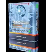 Programa Para Crear Diccionarios Wpa/wpa2/wep-seguridad Wifi