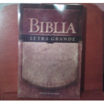Biblia Reina Valera 1909 Letra Grande Pasta Rustica