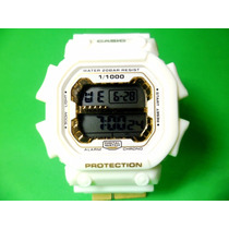 Relógio Digital Masculino Esportivo Anti Shock Branco