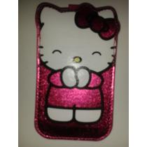 Funda Para Celular Hello Kitty Calcetin Cartera! Oferta